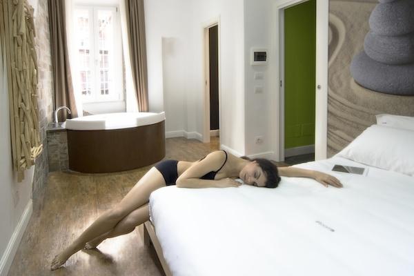 Camere & suite con jacuzzi roma   ripetta relais